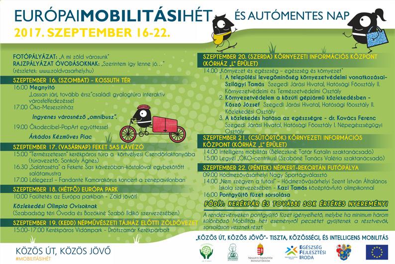 Mobilitási hét 2017